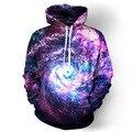 Espaço Galaxy Hoodies Dos Homens/Mulheres Cap casaco Com Capuz Moletom Com Capuz Roupas de Marca 3d Impressão Paisley Jaqueta Nebulosa