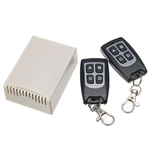 Image 2 - CLAITE 1/2/5 PCS 12V 4CH 433Mhz Wireless Remote Control Switch Integrated Circuit With 2 Transmitter DIY Replace Parts Tool Kits