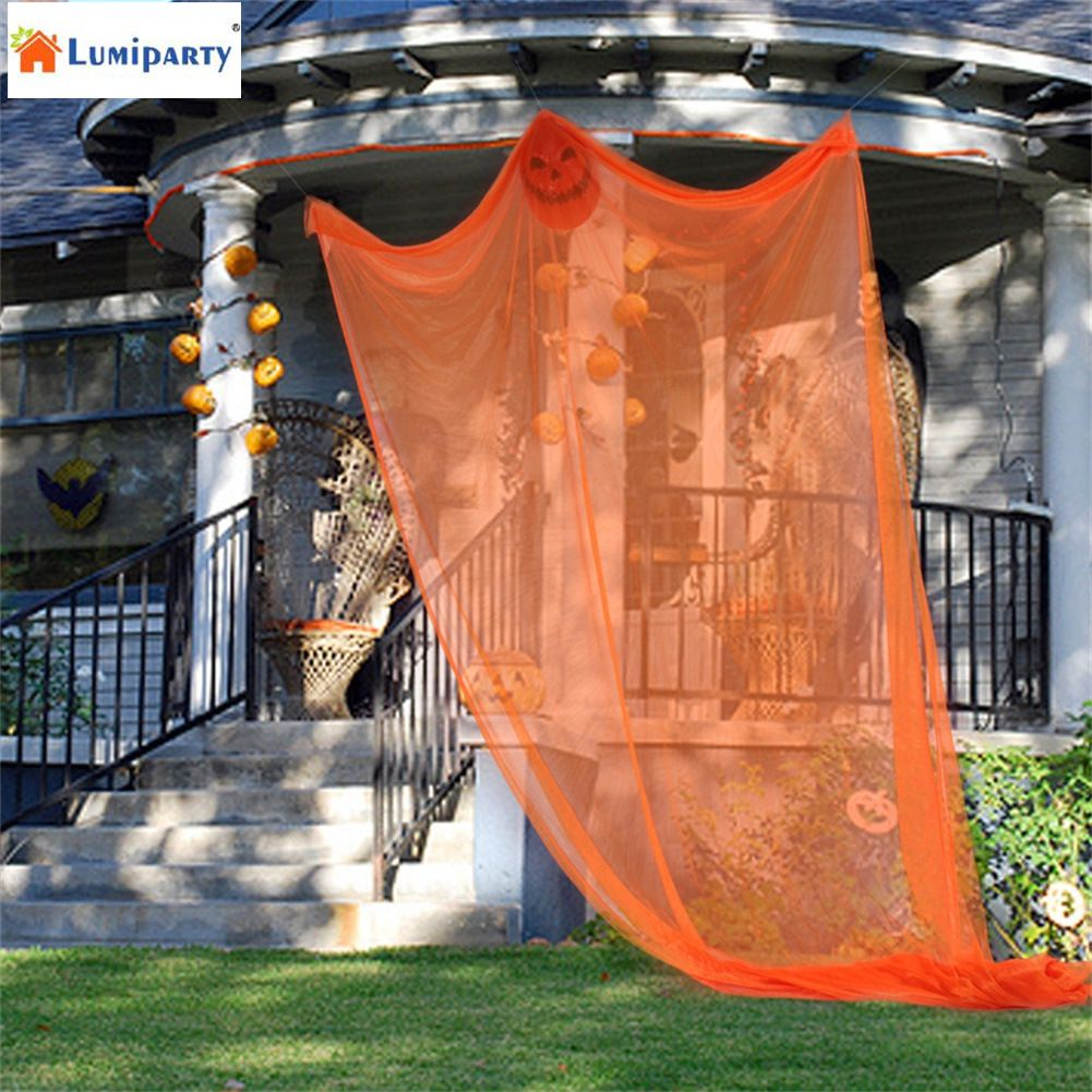 LumiParty Large Halloween Hanging Ghost Party Props Creepy