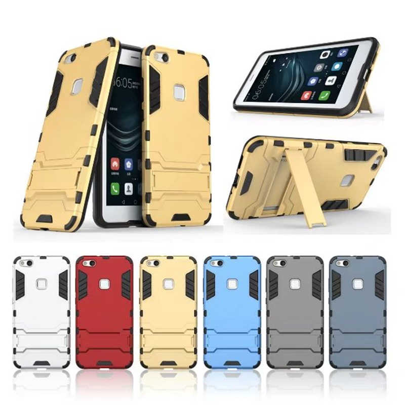 Light Armor Hard Case For Huawei P9 Lite P10 Lite Plus P8 Lite 2017 Silicone Bumper Cover Case For Honor 6C Pro 6A 8 5C 5X 6X 7X