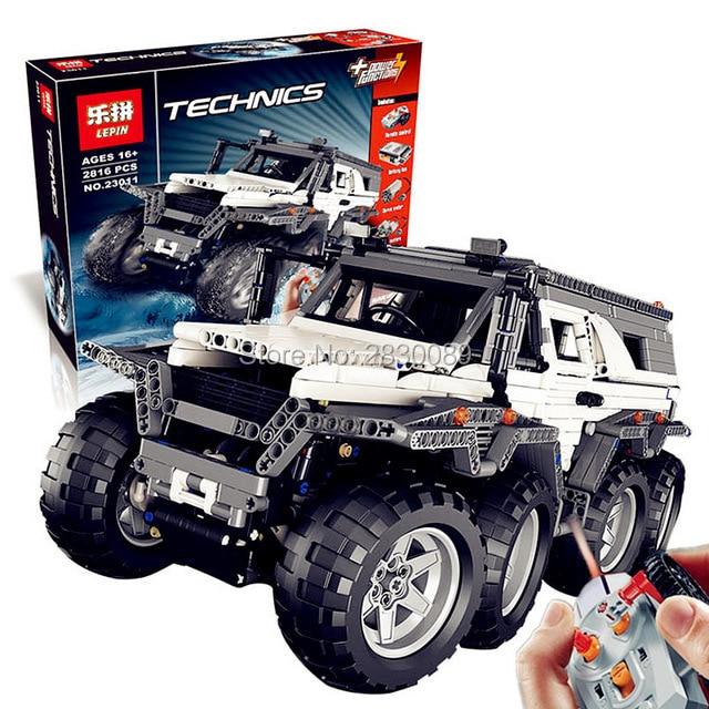 2017 New LEPIN 23011 2816Pcs Technic Series Off-road vehicle Model Building Kits Block Bricks Compatible Toys