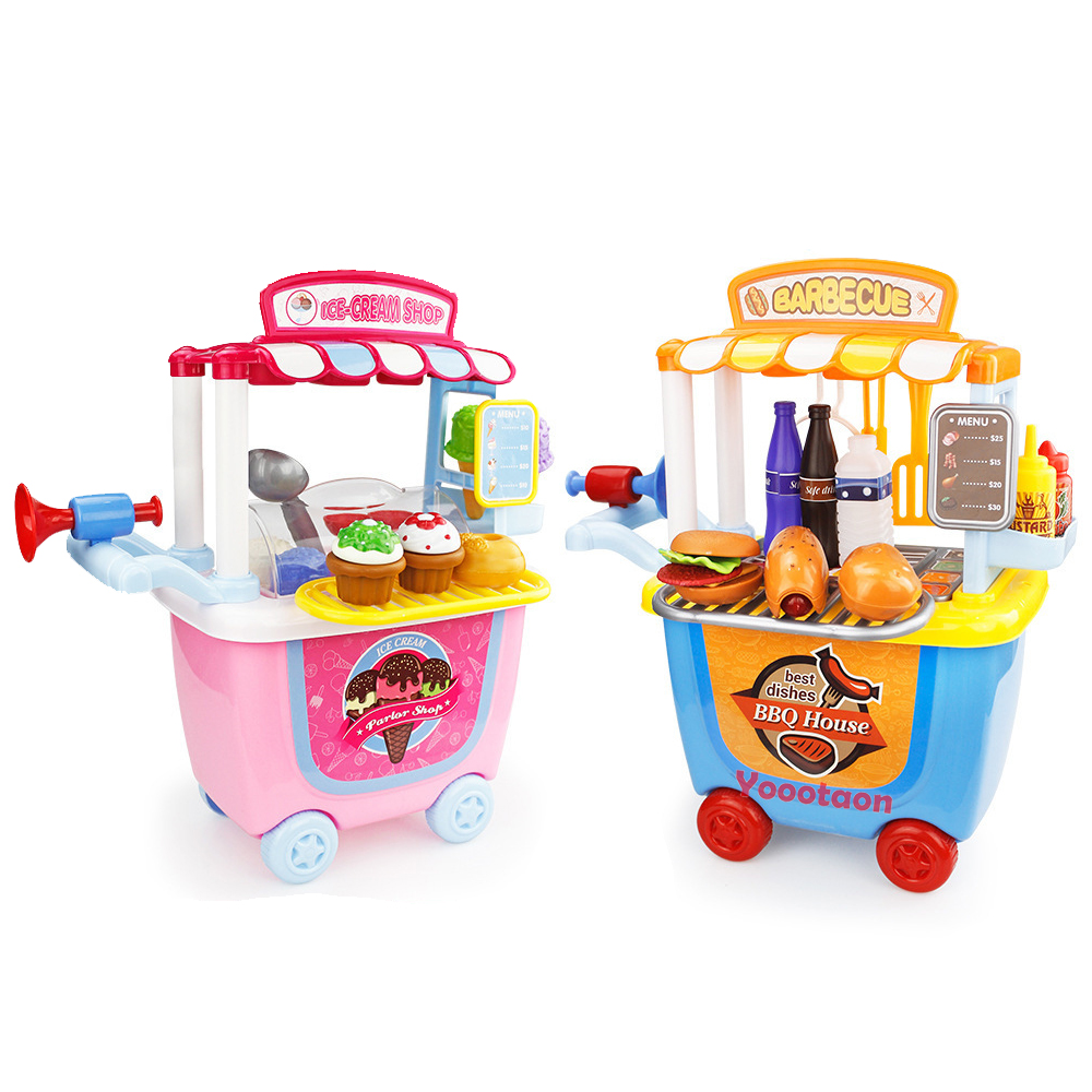 все цены на Pretend play girls toys kitchen/toolbox/Medical kids kitchen toys mini food educational toys for children play food baby toys