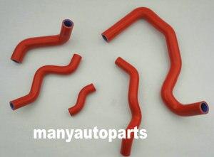 Silicone radiator coolant hose FOR Honda CB400 CB400SF NC23E VTEC 1/2/3 Spec I II III CB400 SF1998-2007 NC31/NC39 RED(China)