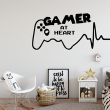 Creative Gamer Waterproof Wall Stickers Art Decor For Kids Rooms Nursery Room Sticker Mural