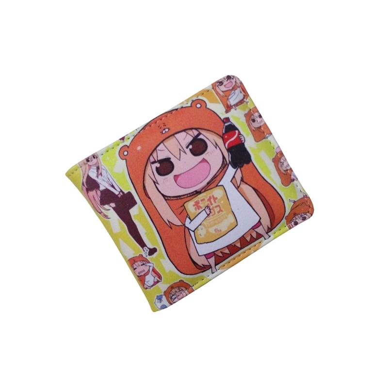Anime Folding Wallet/Himouto! Umaru-chan Doma Umaru High Quality Short PU Purse