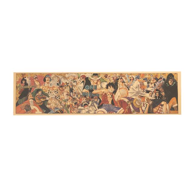 One Piece Portrait Collection Poster 72X18cm