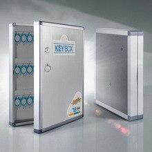 In lega di alluminio Chiave Pensile Montato Keybox di Gestione della Sicurezza di Stoccaggio Sicurezza Contiene carte chiave Per La Società di Home Office