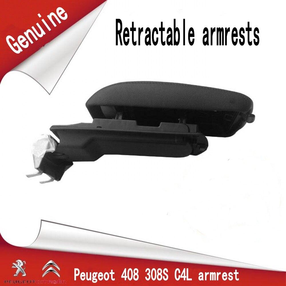 408 308 S C4L Accoudoir boîte Réglable télescopique Main Courante couverture Accoudoir boîte Faible configuration modifie la configuration d'origine