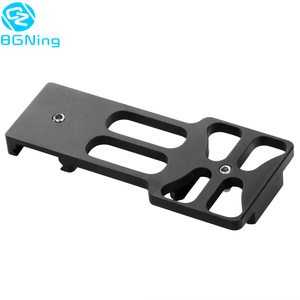 Image 2 - Upgraded CNC Aluminum 20mm Gun Side Rail Mount for Gopro Xiaoyi Gitup Sport Action Camera for Hunters Airsoft Player Accessories