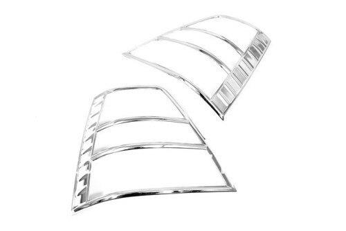 Chrome Tail Light Cover For Kia Sorento 2007 2009-in