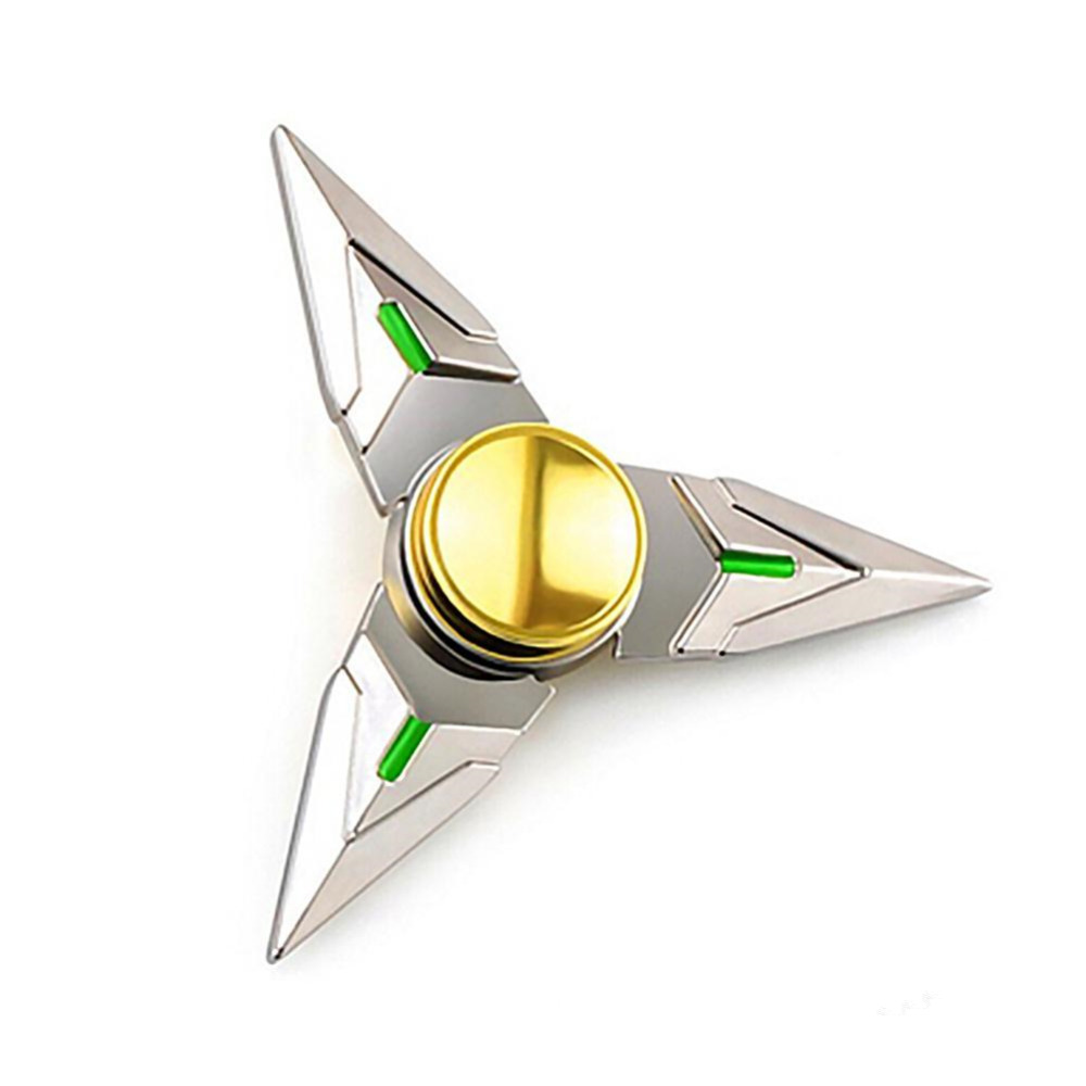 New Hand Spinner Copper Tri-Spinner Fidget Cube Toy EDC Sensory Finger Spinner For Autism and ADHD Funny Anti Stress Puzzle Toys infinity cube new style spinner fidget high quality anti stress mano metal kids finger toys luxury hot adult edc for adhd gifts