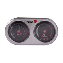 Car Accessories Thermometer Hygrometer 2 In 1 Automobile Interior Ornaments