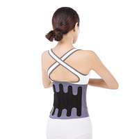 Adjustable Magnetic Therapy Waist Belt Lumbar Support Back Double Banded aja lumbar Waist Support Brace