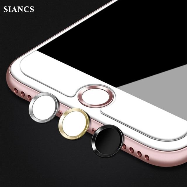כיסויי מפתח מקלדת סרט מדבקת מגן לחצן בית מגע מזהה Keycap עבור IPhone מגע מזהה 5S נעילת 6 6 s 7 טביעת אצבע תמיכה