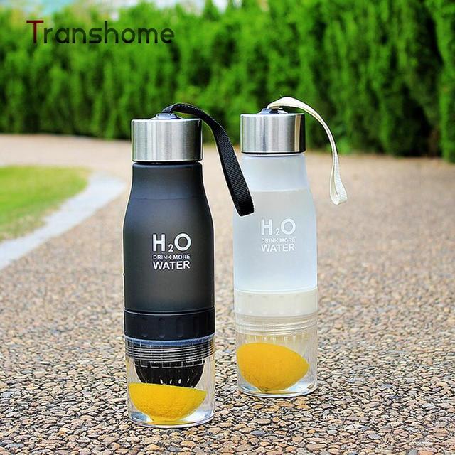 Transhome Creative Fruit Juice Infuser Water Bottle 650ml 2