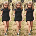 2016 Fashion Casual Baby Girls Kids Clothes Romper Playsuit Jumpersuit Outfit Sunsuit coveralls for newborns baby girl clothes