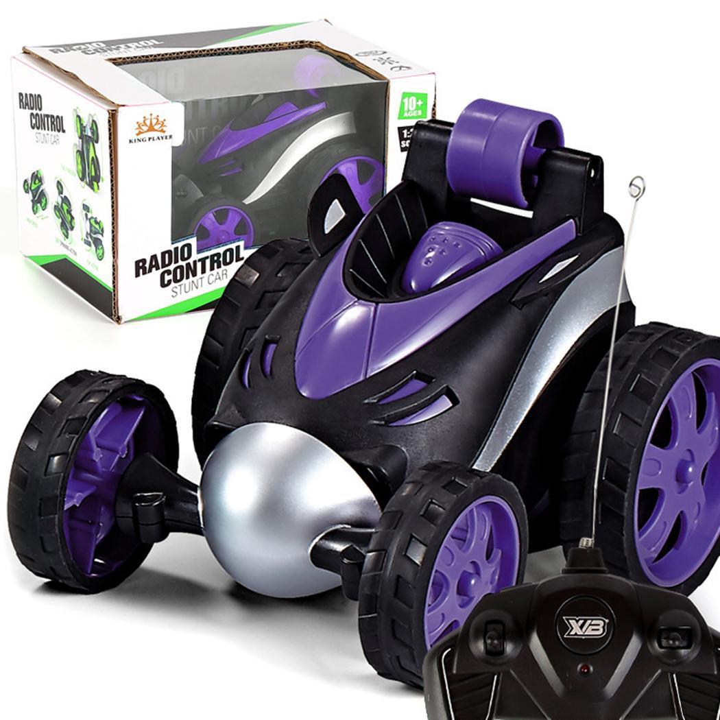 controle remoto sem fio duble danca carro menino do miudo brinquedos 360 rolo caindo roda rotativa