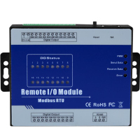 M420 Modbus Remote IO Module 16 Digital Output Relay Output Type High Precision Data Acquisition Module