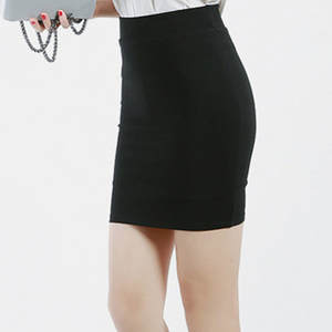 LKLiKe 2019 Pencil Skirts High Waist Black Office Women