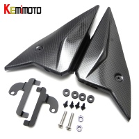KEMiMOTO MT 09 MT09 2017 Side Panels Cover Fairing Cowling Plate Covers For Yamaha MT 09 FZ 09 2014 2015 2016 2017