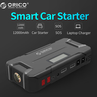 ORICO CS2 12000mAh Mini Emergency Power Bank Portable Mobile Battery Emergency Booster Buster Power Bank For