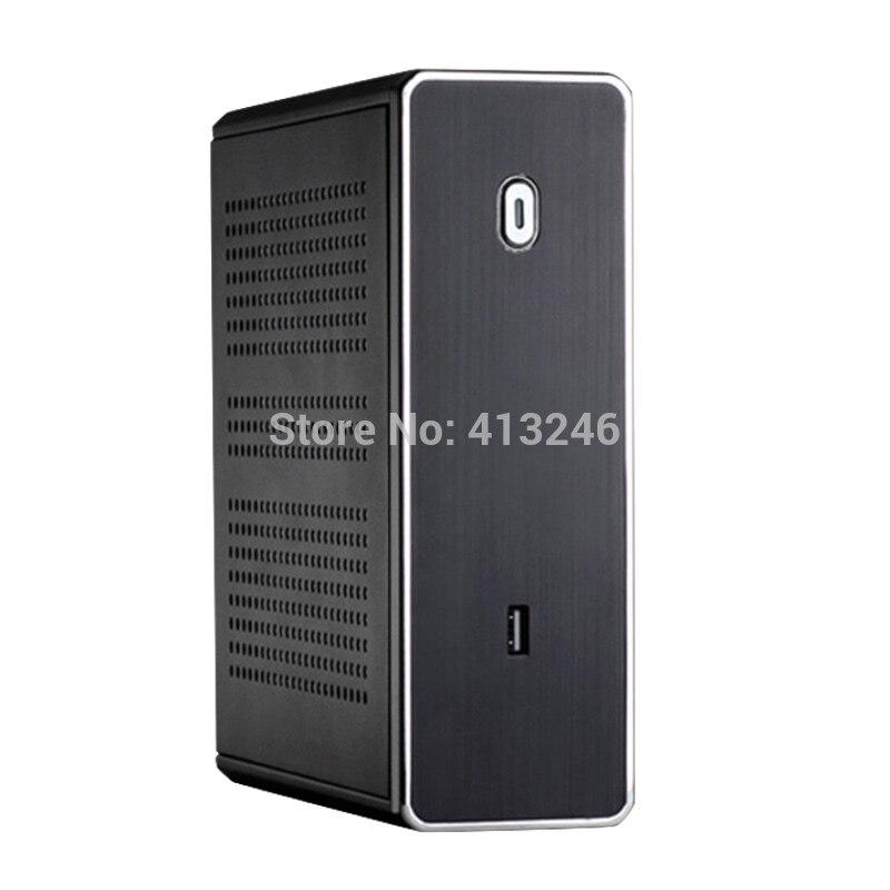 A8 4555 I5 3317u уровень Mini PC DDR3 SSD 4 ядра мини настольный компьютер HTPC WIN7 8 10 WI FI RJ45 дома или офиса