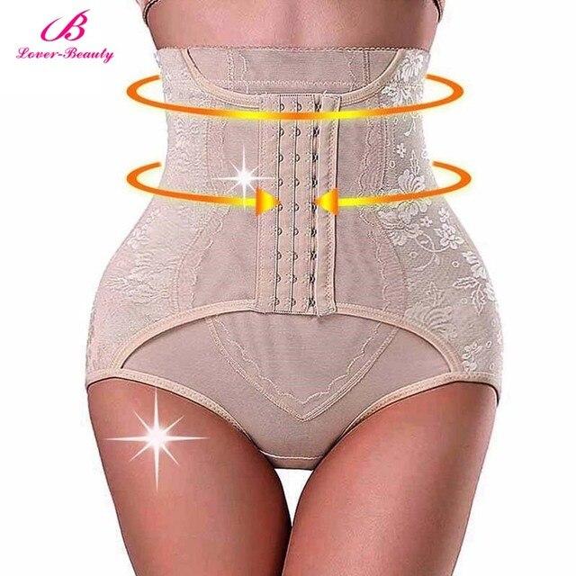 849c037989f57 Lover Beauty High Waist Trainer Tummy Control Panties Butt Lifter Body  Shaper Corsets Hip Abdomen Shapewear Panty Hooks A