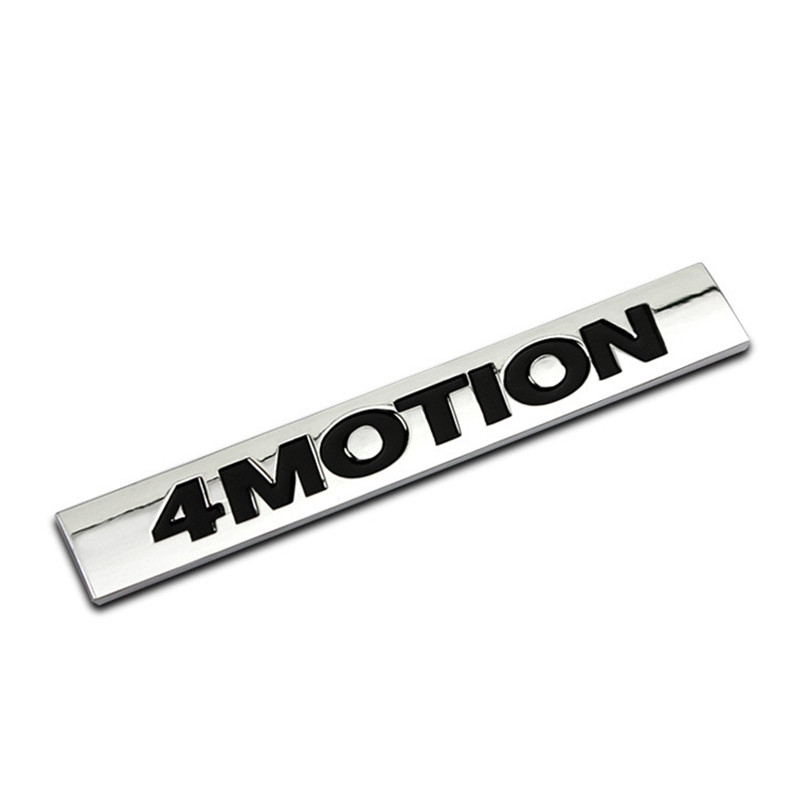 ABS 4MOTION Car <font><b>Stickers</b></font> Emblem Decorations for Volkswagen <font><b>VW</b></font> Tiguan Passat B5 B6 B7 Polo Golf 4 5 6 7 <font><b>Touran</b></font> Bora car styling image