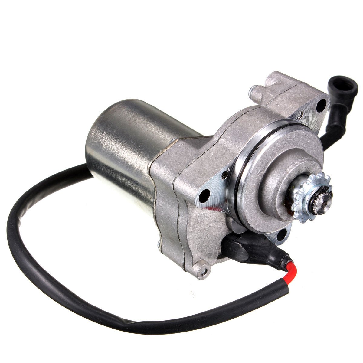 12v 48v 3 bolt motorbike atv electric starter motor for 50cc 90cc 110cc 4 stroke engine quad atv for honda kawasaki [ 1200 x 1200 Pixel ]