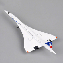 Concorde 1:400 Air France 1976-2003 Diecast Plane Aircraft Airliner Model Toys Mini Airplane Model As Children Gift