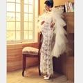 Высокое Качество Материнства Беременных Женщин Белое Кружево Photograghy Реквизит Dress Летняя Мода Необычные Фотосессии Беременности Плащ Dress