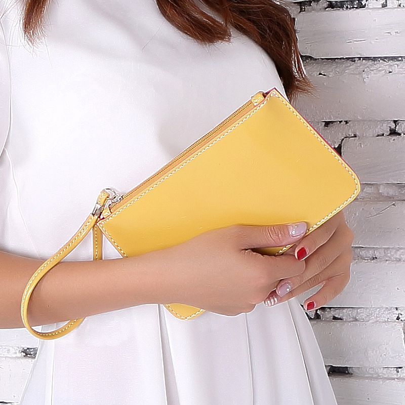 2017 Hot Fashion Women Wallets Handbag Solid PU Leather Long Bag High Quality Clutch Lady Brand Cash Phone Card Cheap Coin Purse