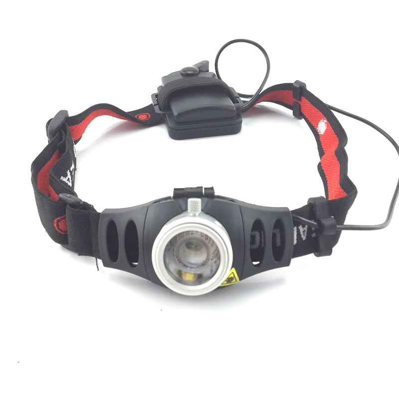 Mini Led Scheinwerfer Q5 LED Scheinwerfer Zoomable Scheinwerfer Fokus Taschenlampe Touch Lichter Angeln Laterne für Camping Radfahren Jagd