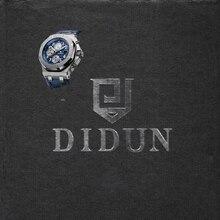 DIDUN watch  Mens Top Brand Luxury Quartz Watch Men Military Chronograph Sports Watch Shockproof 30m Waterproof Wristwatch