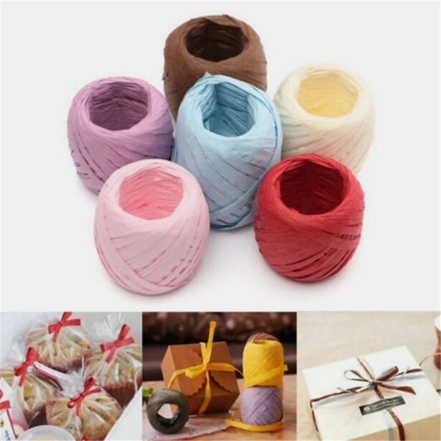 Decorating With Raffia Raffia Ribbon Crafts Promotion Shop For Promotional Raffia Ribbon