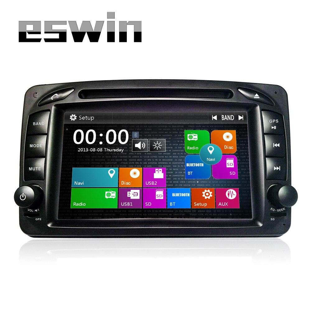 2din Auto Radio DVD de Voiture Lecteur GPS pour Mercedes/Benz W203 Viano Vito W639 W638 d'occasion  Livré partout en France