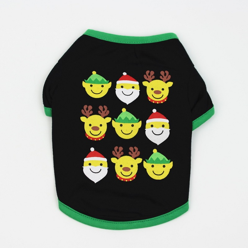 Pet Dog Clothes Christmas Costume Cute Cartoon Clothes For