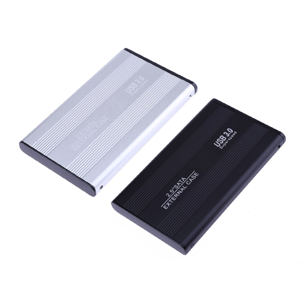 Aluminum Alloy External Hard Disk Drive Case for <font><b>2.5</b></font>'' SATA Notebook Hard Disk <font><b>USB</b></font> <font><b>3.0</b></font> to Serial ATA <font><b>HDD</b></font> Enclosure Box Caddy image