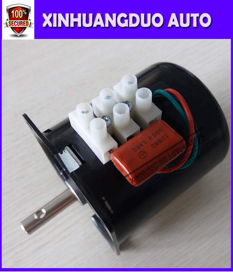 US $35 0  Best 220 /28w/10 rpm Low Noise Gearbox Electric Motor 50HZ 60HZ  High Torque Low Speed AC synchronous motor 60KTYZ-in AC Motor from Home