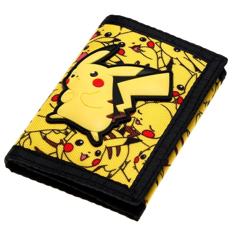 Pokemon Wallet Trifold Nylon Wallet Women Purse DFT-2036