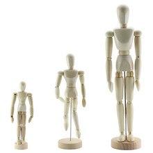 Деревянные фигурки художника модель картины эскиз мультфильм шарнирная модель для товары для рукоделия