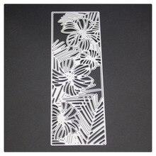 SCD1235 Flower Cover Scrapbook Metal Cutting Dies For Scrapbooking Stencils DIY Album Cards Decoration Embossing Folder Die Cut