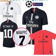 3a8bddc8e21 2018 3rd champions league psg jersey NEYMAR JR MBAPPE PARIS soccer jersey  2018 2019 Paris 3rd shirt CAVANI MEN football t-shirt