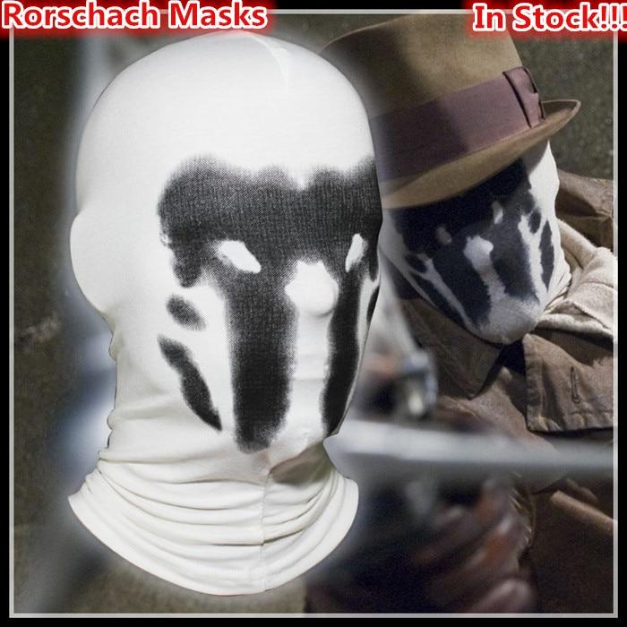 Hot prodej New Rorschach masky Balaclava Watchman Cosplay kostým - Pro svátky a večírky