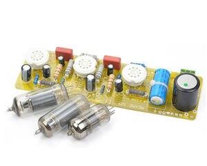 Image 1 - 6N1 + 6P1 vana Stereo amplifikatör kurulu vakumlu tüp amplifikatörler Filament Hifi ses AC güç kaynağı ile 3vsvTubes