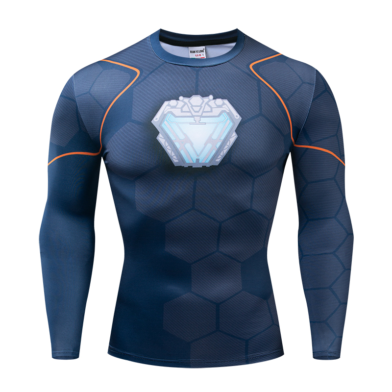 Raglan Sleeve Avengers 3 Iron Man 3D Printed T shirts Men Compression Shirts Black Friday Top For Male Cosplay Costume Clothing in T Shirts from Men 39 s Clothing