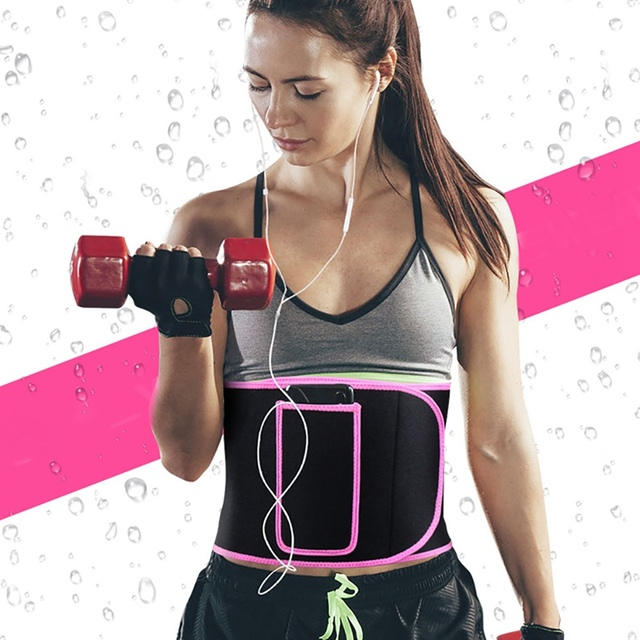Men woman Adjustable training Waist Support Fitness Belt Sport Protection Back Absorb Sweat Fitness Sport Protective Gear