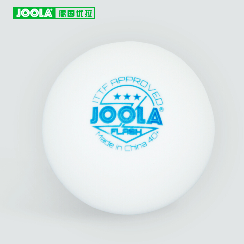 12 Balls JOOLA Flash Table Tennis Ball 3-star Seamless New Material 40+ Plastic Poly Ping Pong Balls Tenis De Mesa