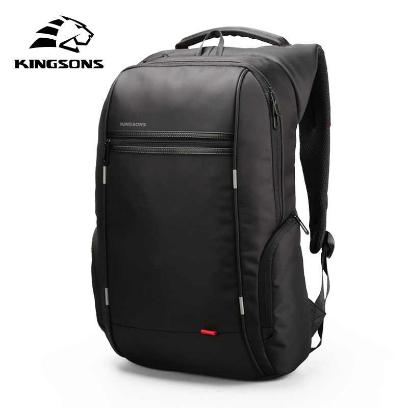 89715e91d248 Kingsons 15 inch Laptop Backpacks USB Charging Anti Theft Backpack Men  Travel Backpack Water Repellent School