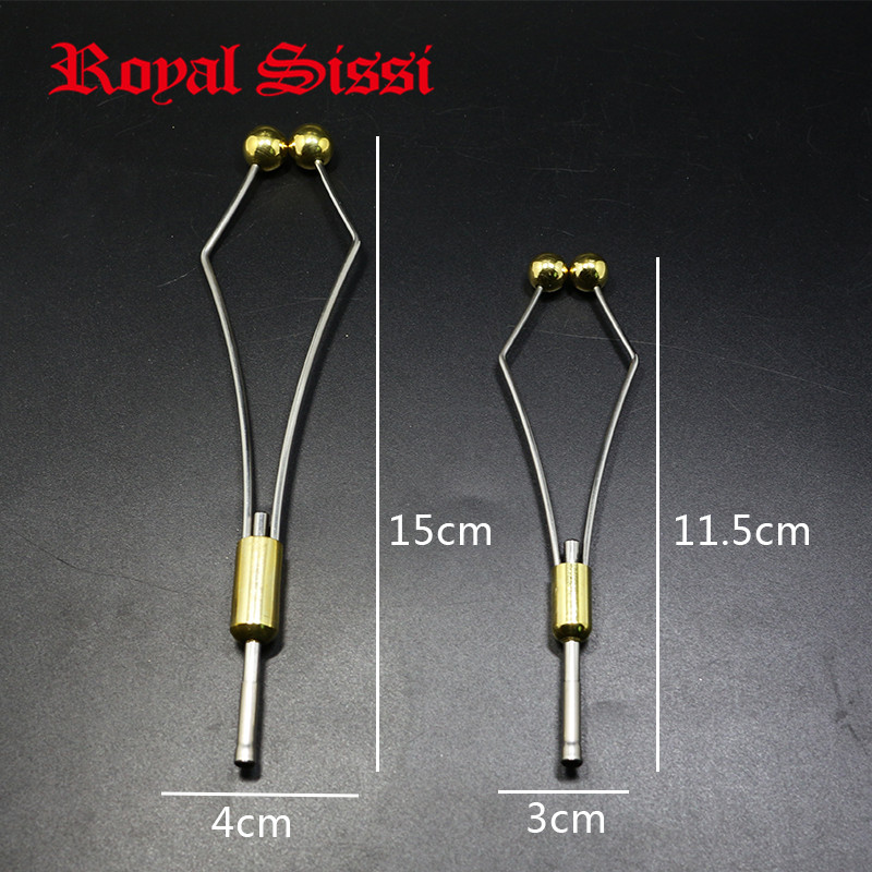 Royal Sissi 2 Sizes Heavy Bullet Head Fly Tying Bobbin Holder With Ceramic Tube Tip&ball Feet Clamp High Quality Fly Tying Tools